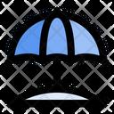 Umbrella Summer Beach Icon