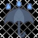Umbrella Rain Wet Icon