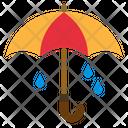 Umbrella Protection Spring Icon