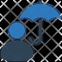 Umbrella User Protection Icon
