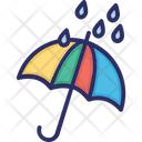 Umbrella Rain Weather Icon