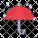Umbrella Bad Weather Snow Icon