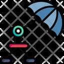 Umbrella Stand Rain Icon