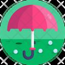 Golf Umbrella Golfing Icon