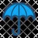Umbrella Bumbershoot Insurance Parasol Sunshade Icon