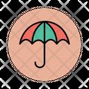Canopy Parasol Sun Protection Icon