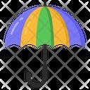 Umbrella Parasol Protection Icon