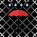 Umbrella Water Nature Icon