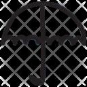 Umbrella Protection Safety Icon