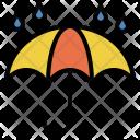 Umbrella Rainy Shower Icon