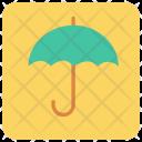 Umbrella Protection Carton Icon