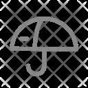 Umbrella Security Defence Icon