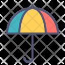 Umbrella Rain Summer Icon