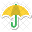 Umbrella Canopy Sunshade Icon