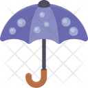 Umbrella Protection Raining Icon