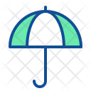 Umbrella Rain Summer Icon