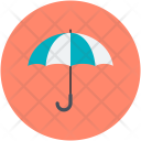 Umbrella Protection Sunshade Icon