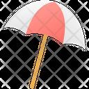 Umbrella Beach Icon