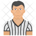 Umpire Basketball Umpire Referee Icon