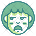 Unamused Emoji Irksome Icon