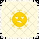 Unamused Coronavirus Emoji Coronavirus Icon