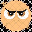 Unamused Emoticon Emoji Emoticon Icon