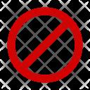 Unavailable Block Icon