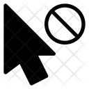 Unavailable Cursor Pointer Icon