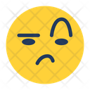 Uncertain Feeling Emoji Icon