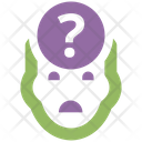 Uncertainty Business Concept Icon