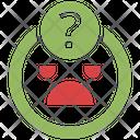 Uncertainty Emoji Seo Web Icon