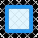 Unchecked Box Icon