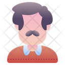 Uncle Avatar People Icon