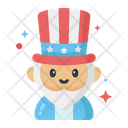Th Of July Flat Icon