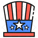 Uncle Sam Hat United States America Icon