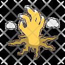 Undead Zombie Halloween Icon