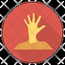 Undead Hand Zombie Icon