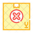 Undelivered Package Box Icon