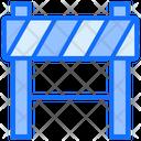 Under Caution Barrier Icon
