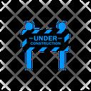 Under Maintenance Construction Work Repair Icon Vector Icon