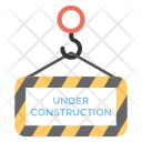 Under Construction Announcement Icon