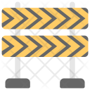 Construction Barrier Barricade Icon