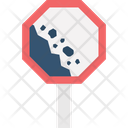 Building Site Hazard Zone Tool Warning Icon