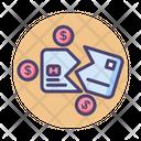Munderbanked Underbanked Bankrupt Icon