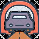 Underground Subterranean Subterraneous Icon