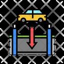 Underground Parking Underground Parking Icon
