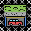 Underground Parking Car Parking Car Park Icon