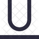 Underline Letter U Icon