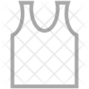 Vest Undershirt Underclothes Icon