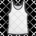 Undershirt Sleeveless Garment Undergarment Icon